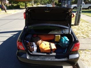 Who knew a Corolla could fit so much!