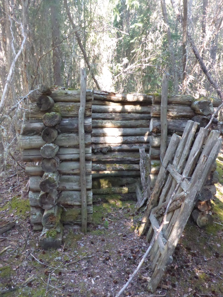 Heritage outhouse.
