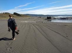 The beach at Casa Atipika